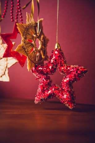 Christmas tree star