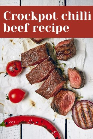 Crockpot chilli beef recipe