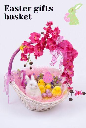 Easter gifts basket
