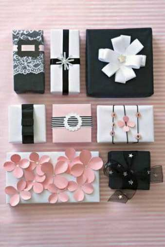 Elegant Christmas gift wrapping styles