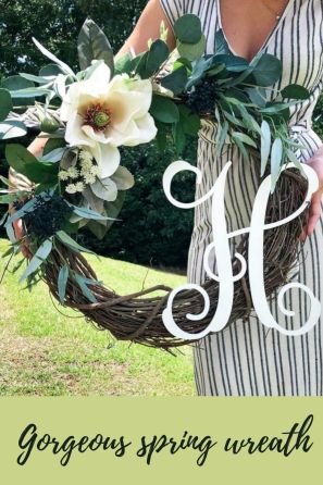 Floral Farmhouse wreath
