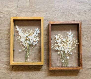 Herbarium Pressed Flowers Frame
