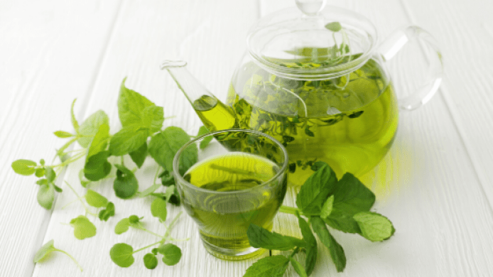 In short, green tea can help you stay more relaxed and happier. On the other hand, L-theanine also boosts the alpha wave frequencies so that you can feel energetic all the time. Green tea is another food that help to boost your brain and improve memory efficiency.