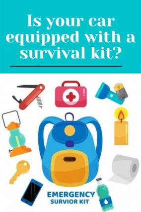 Is your car equipped with a survival kit?