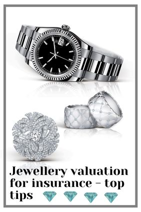 Jewellery valuation for insurance - top tips