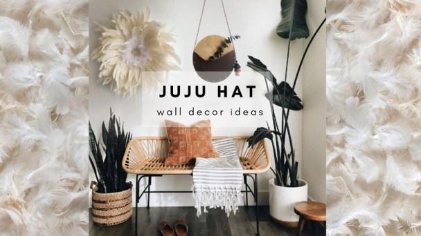 Juju hat wall decor ideas