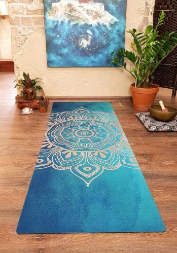 Mandala Of Light - Personalized Yoga Mat