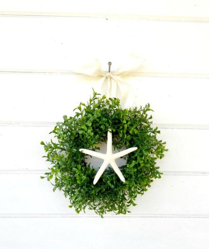 Mini Starfish wreath