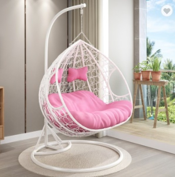 Modern swinging chair for adults