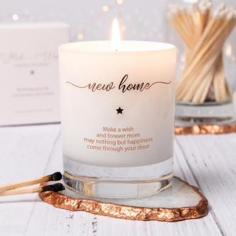 New home scented candle housewarming gift