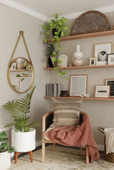 Plants can create spectacular decor if chosen carefully