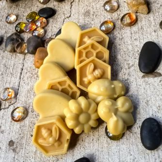 Pure organic Beeswax scented melts