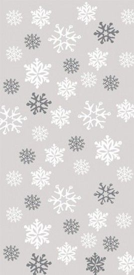 Snowflakes Christmas wallpaper for iPhone