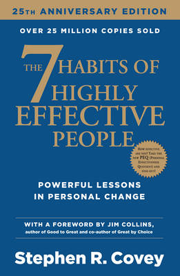 The 7 Habits of Highly Effective People book that will improve your life in a short time