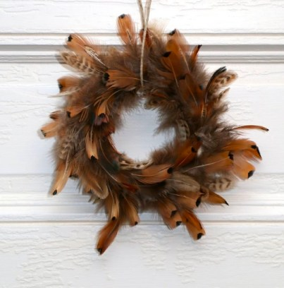 Rustic theme Thanksgiving Wreath decor
