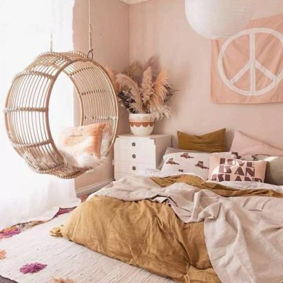 Turn your room into a cozy Nordic style bedroom decor
