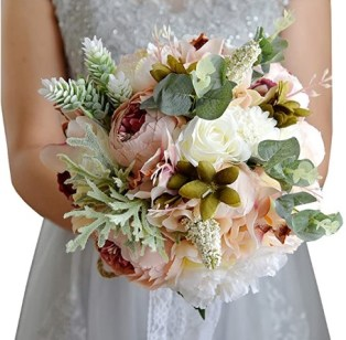 Wedding Romantic Bouquet Bride Bridal Bouquets