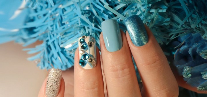 Winter nails design ideas for long and short manicure