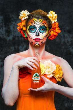jarritos-mexican halloween makeup looks