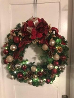 Merry Christmas Wreath, For Front Door