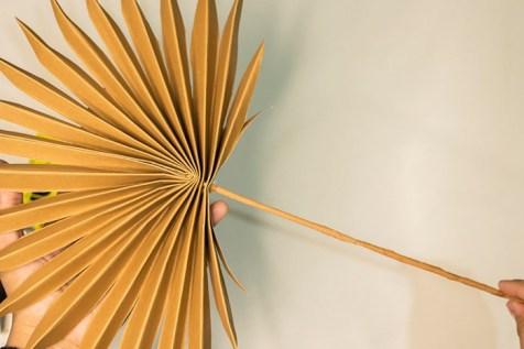 palm leaf step by step