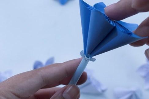 step by step paper flower tutorial
