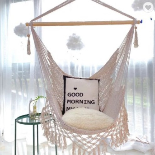 teenager hanging chair on the ceiling bedroom decor ideas.