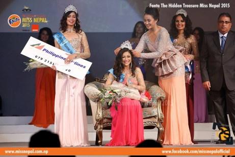 Evana Manandhar Miss Nepal Crowning 7