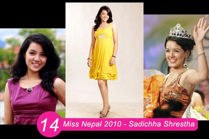 Miss Nepal 2010 – Sadichha Shrestha