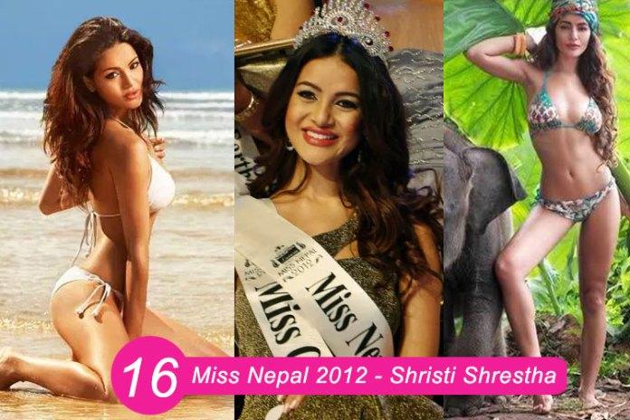Miss Nepal 2012 – Shristi Shrestha