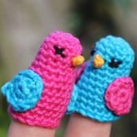 Two Little Dickie Birds - finger puppets