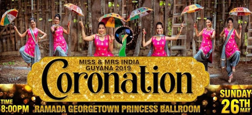 Who will be crowned Miss India Guyana 2019?