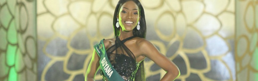 Faydeha King Breaks Miss Earth Dry Streak for Guyana!