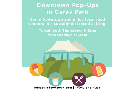 Downtown Missoula Pop-Ups in Caras Park