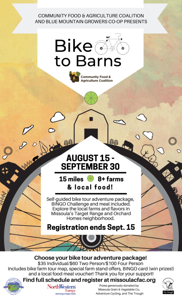 Bike to Barns - Community Food & Agriculture Coalition