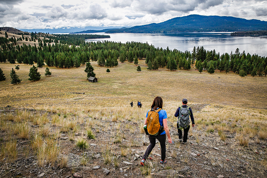 Hiking Wild Horse Island on Flathead Lake is a scenic and fun day of adventure for family and friends.