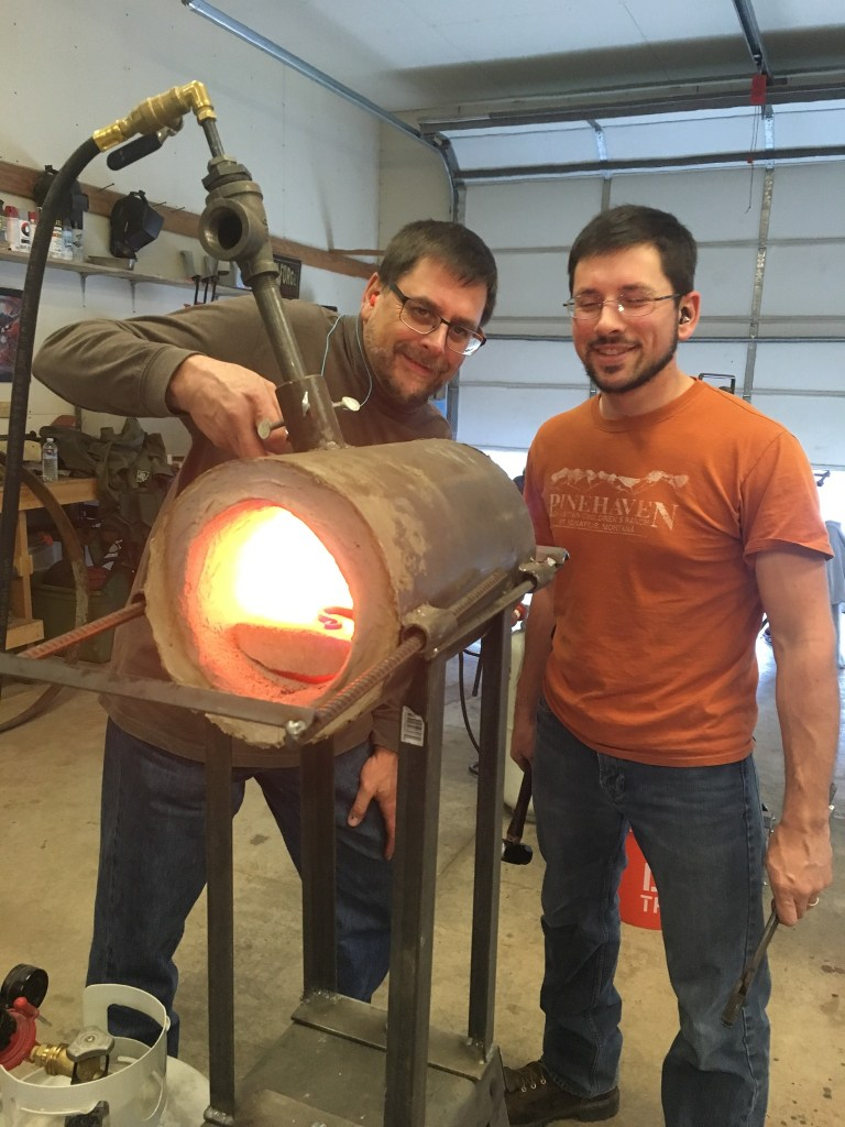 Blacksmithing at the Sentinel Forge