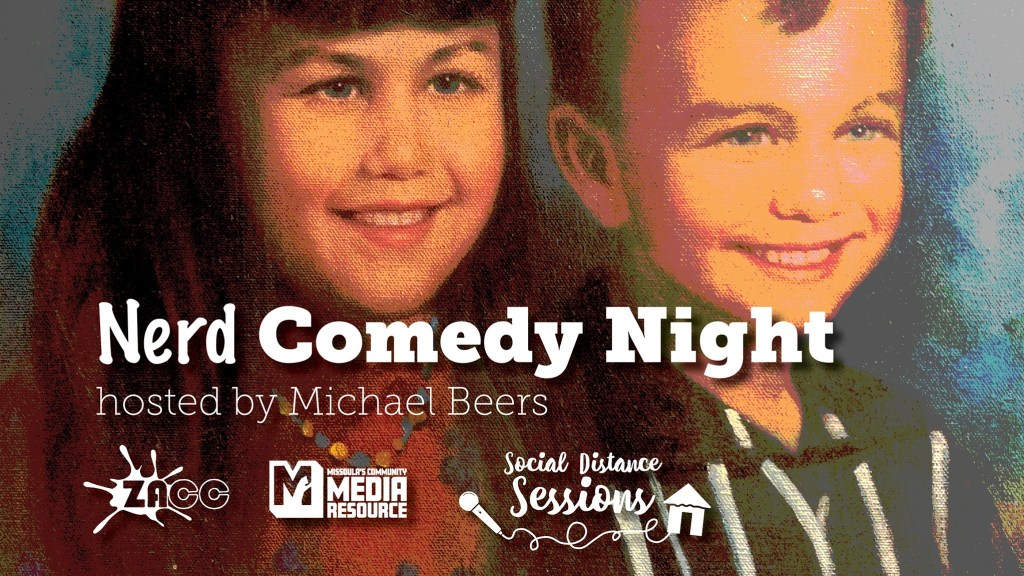 Social Distance Sessions: A New Normal: Nerd Comedy Night