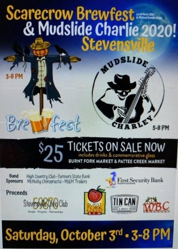 Scarecrow Brewfest & Mudslide Charley