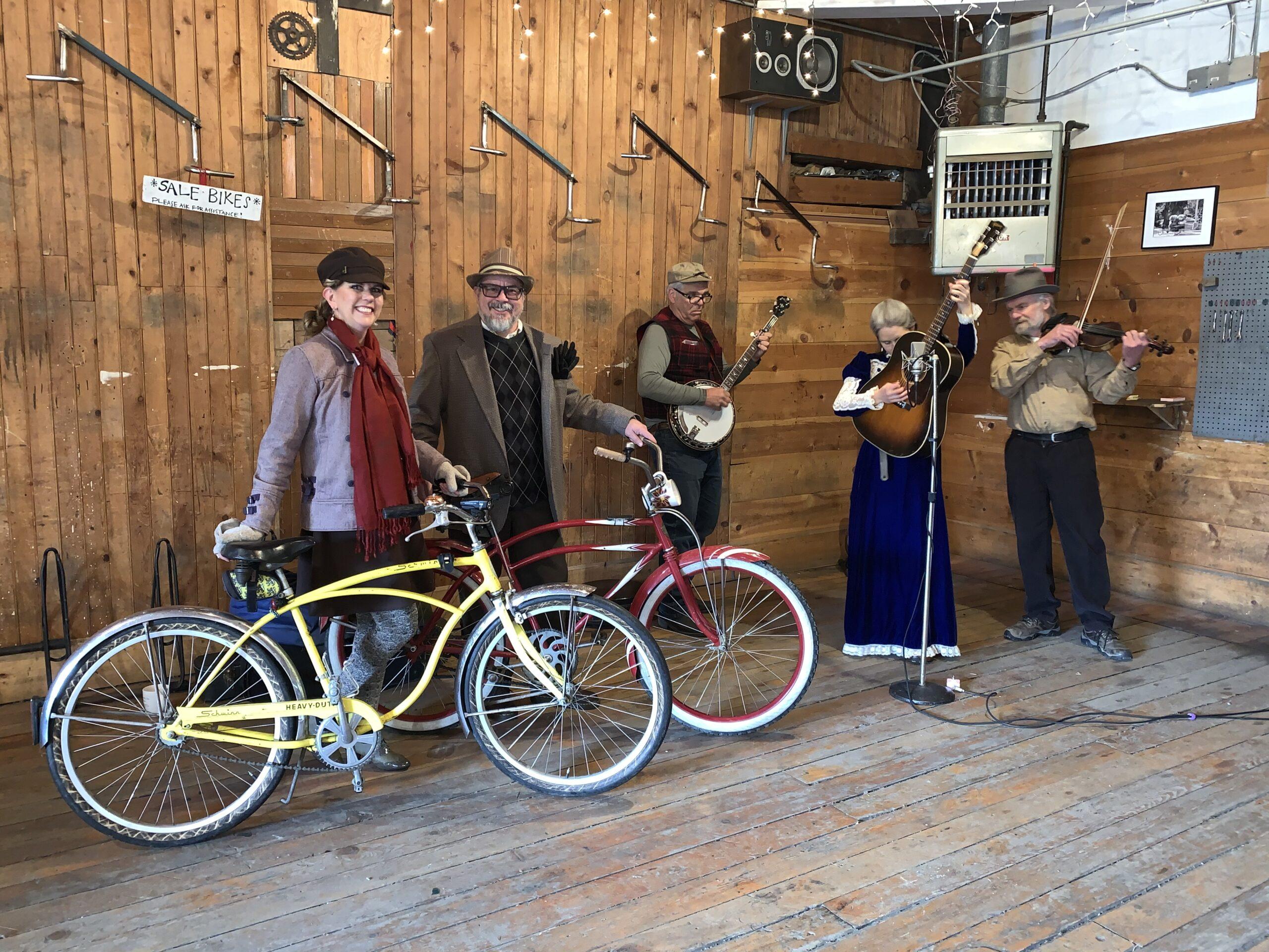 Tweed Ride @ Free Cycle