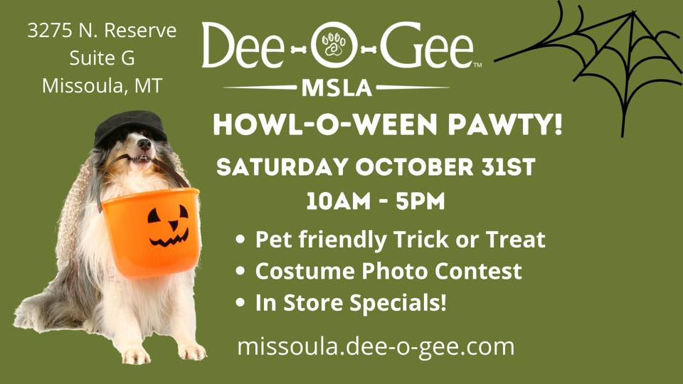 Dee-O-Gee Howl-o-ween Pawty