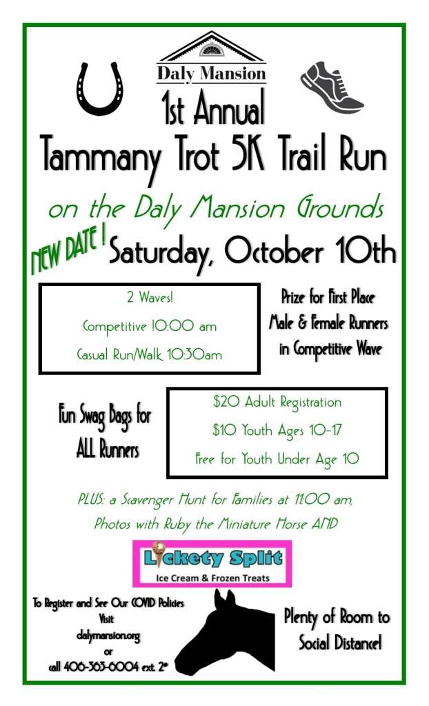 Tammany Trot 5k Trail Run