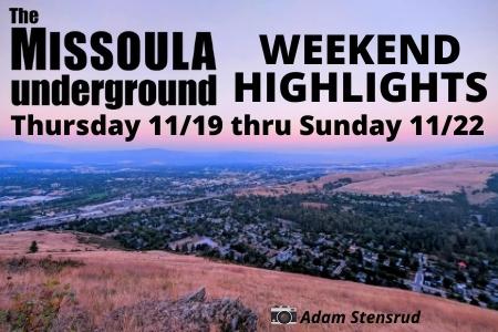MUG Weekend Event Picks - Nov 19-22