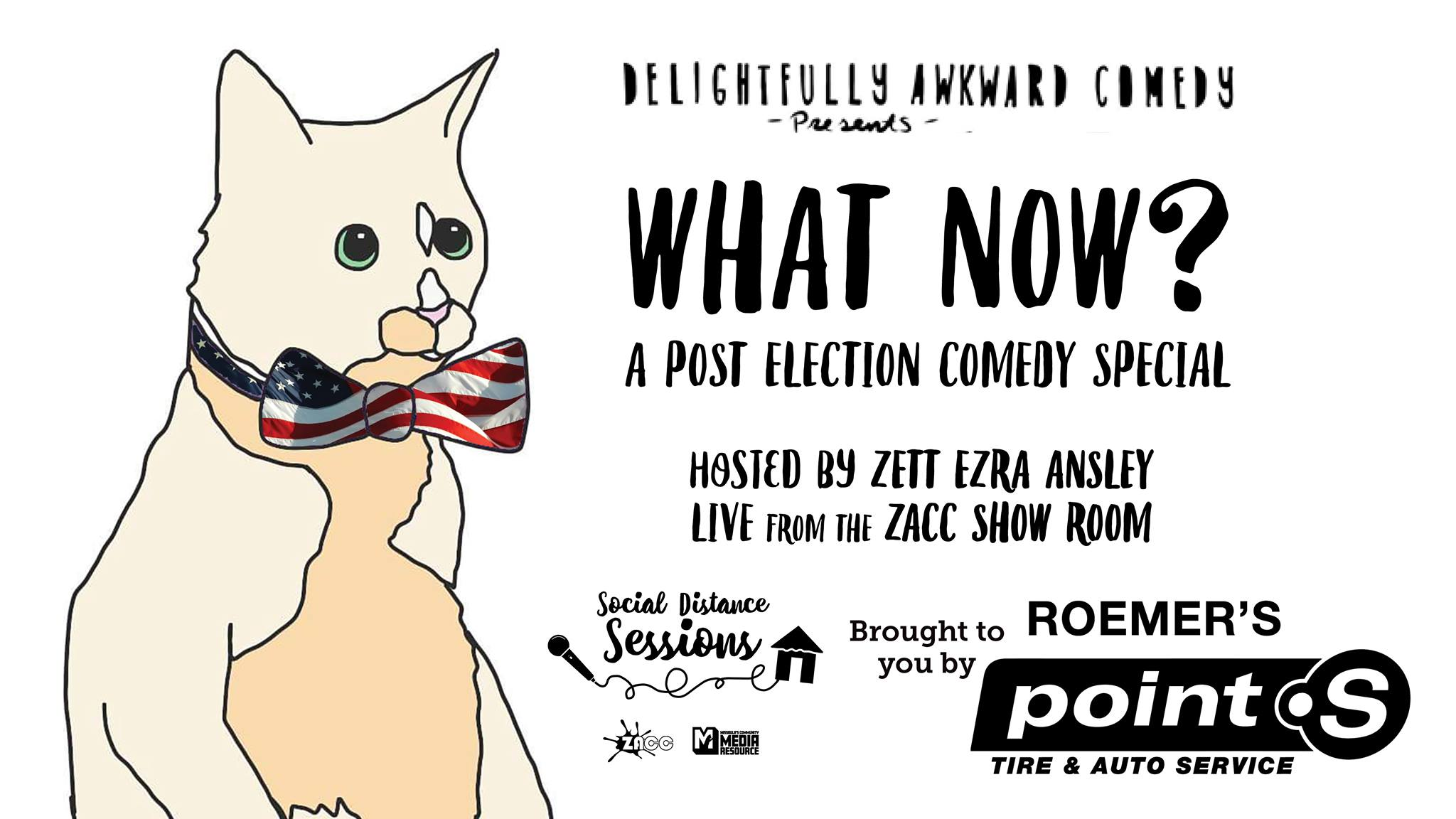 What Now? Post Election Comedy Special