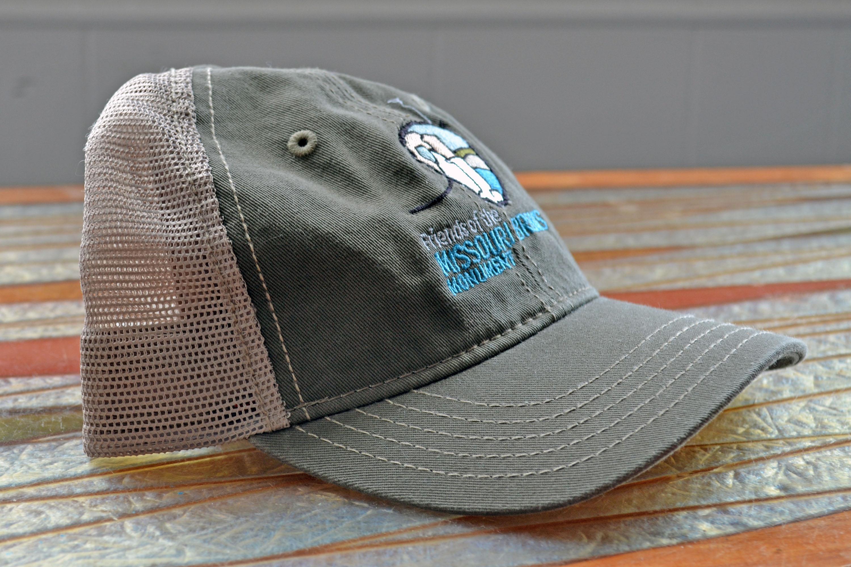 Olive Tan FMB Soft Mesh Hat – Friends of the Missouri Breaks Monument bfb748d4ec1