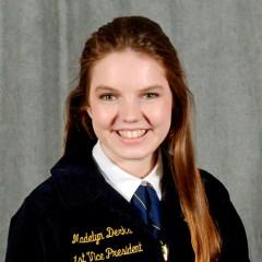 Madelyn Derks, VP 2018-19
