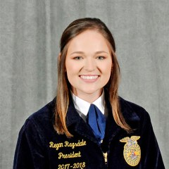 Regan Ragsdale, Secretary 2018-19