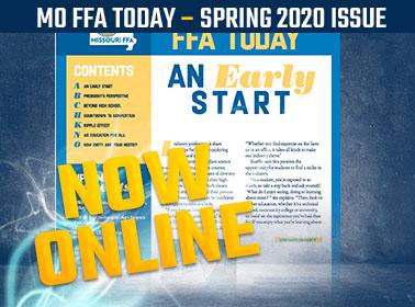Spring 2020 MO FFA Today Promo