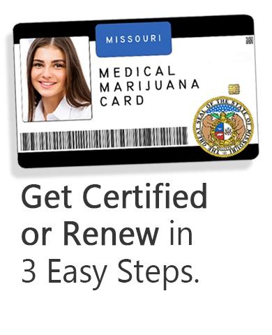 get certified for a medical marijuana card | missouri