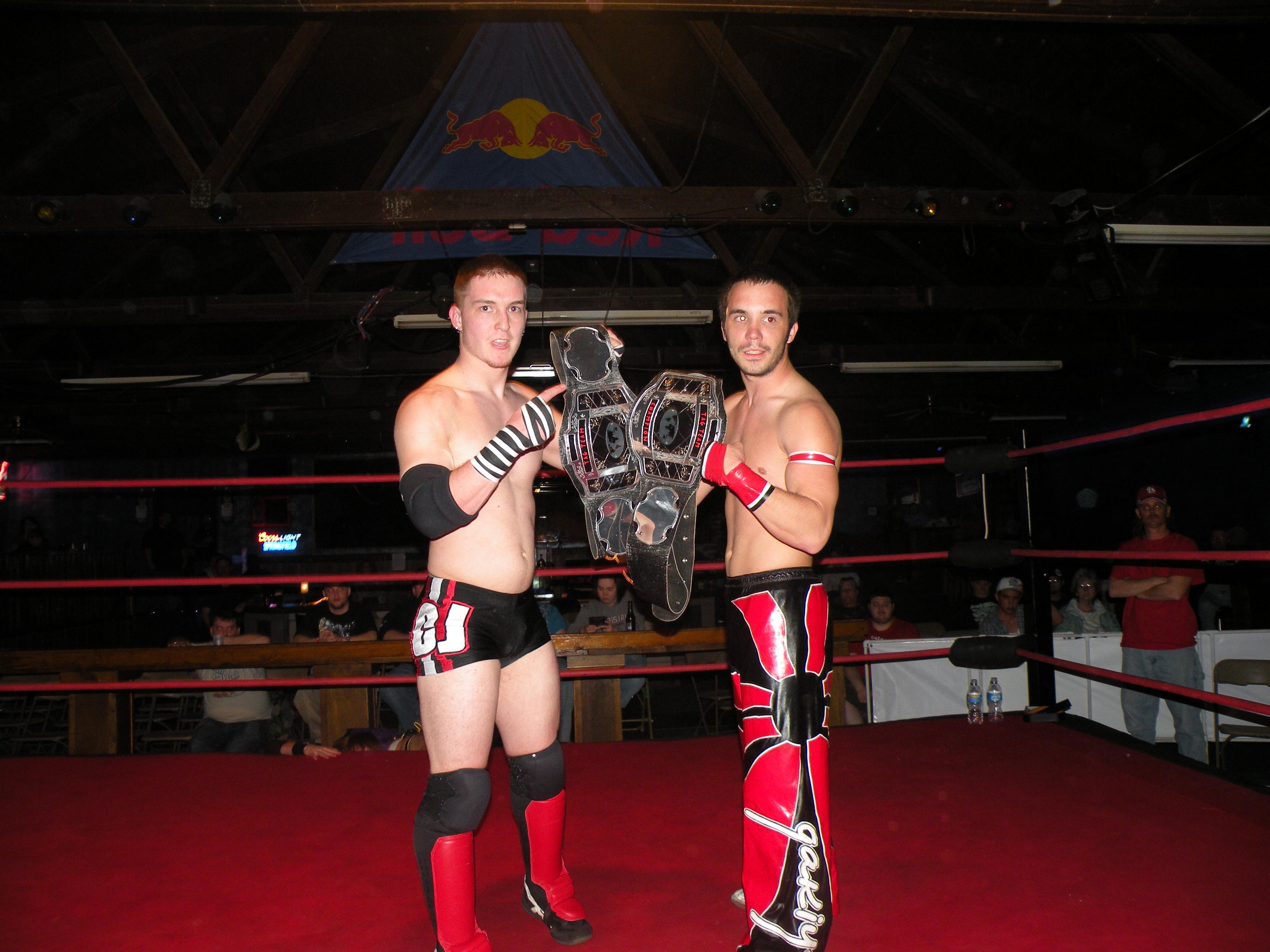 PWE Tag Team Champions Zero Gravity